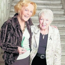 Brenda with June Whitfield